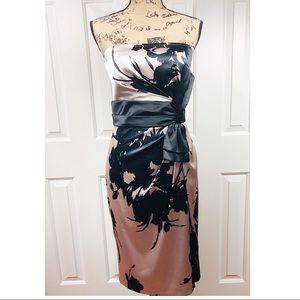 White House Black Market Strapless Bodycon Dress